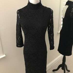 Zara Black Lace Dress